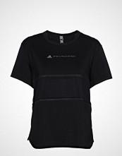 Adidas by Stella McCartney Run Loose Tee T-shirts & Tops Short-sleeved Svart ADIDAS BY STELLA MCCARTNEY