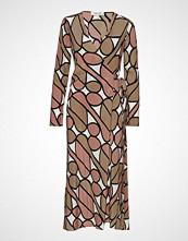 Diane von Furstenberg Dvf Tilly Knelang Kjole Multi/mønstret DIANE VON FURSTENBERG