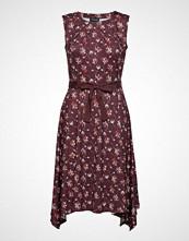 Taifun Dress Knitted Fabric Knelang Kjole Rosa TAIFUN