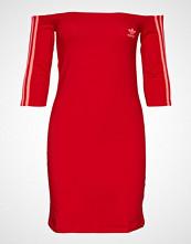 Adidas Originals Shoulder Dress Kort Kjole Rød ADIDAS ORIGINALS