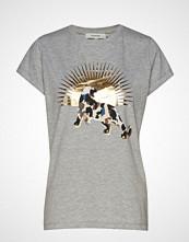 Munthe Kid T-shirts & Tops Short-sleeved Grå MUNTHE