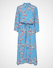 Lollys Laundry Nicole Dress Knelang Kjole Blå LOLLYS LAUNDRY