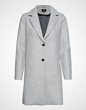 Only Onlcarrie Bonded Coat Cc Otw Ullfrakk Frakk Grå ONLY