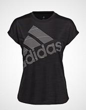 Adidas Performance Ss Bos Logo Tee T-shirts & Tops Short-sleeved Svart ADIDAS PERFORMANCE