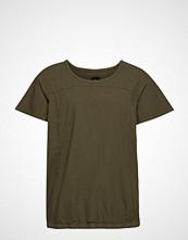 Zizzi Mmarrakesh, Ss, Blouse T-shirts & Tops Short-sleeved Grønn ZIZZI