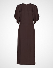 Filippa K Kimono Sleeve Dress Knelang Kjole Rød FILIPPA K