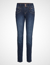 Pulz Jeans Stacia Curved Skinny Skinny Jeans Blå PULZ JEANS