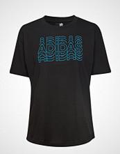 Adidas Performance Lineage Id Tee T-shirts & Tops Short-sleeved Blå ADIDAS PERFORMANCE
