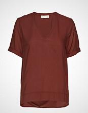 InWear Blakeiw V Top T-shirts & Tops Short-sleeved Rød INWEAR