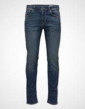 Selected Homme Shnslim-Leon 1004 M.Blue St Jns W Noos Slim Jeans Blå SELECTED HOMME