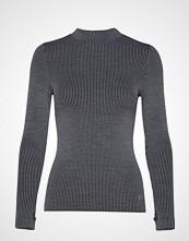 Casall Wool Rib Long Sleeve Strikket Genser Grå CASALL