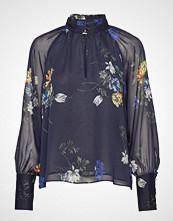 Twist & Tango Eden Blouse Sporty Flower Bluse Langermet Blå TWIST & TANGO