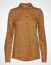 Stine Goya Lucian, 560 Mervidelux Knit Langermet Skjorte Gul STINE GOYA