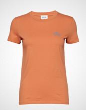 Wood Wood Eden T-Shirt T-shirts & Tops Short-sleeved Oransje WOOD WOOD