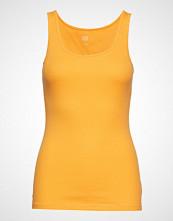 GAP V-Sl Bf Tank T-shirts & Tops Sleeveless Gul GAP