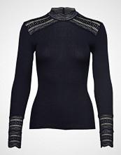 Rosemunde Silk T-Shirt Turtleneck Regular Ls T-shirts & Tops Long-sleeved Blå ROSEMUNDE
