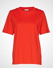 Envii Enbeverly Ss Tee 5310 T-shirts & Tops Short-sleeved Rød ENVII