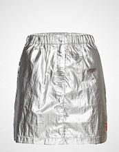Calvin Klein Silver Utility Skirt Kort Skjørt Sølv CALVIN KLEIN JEANS