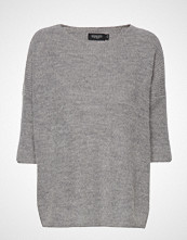 Soaked in Luxury Tuesday Jumper Strikket Genser Grå SOAKED IN LUXURY
