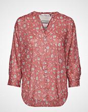 Edc by Esprit Blouses Woven Bluse Langermet Rosa EDC BY ESPRIT