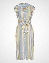Mango Striped Shirt Dress Slim Jeans Multi/mønstret MANGO