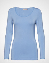 Noa Noa T-Shirt T-shirts & Tops Long-sleeved Blå NOA NOA