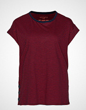 Violeta by Mango Organic Cotton T-Shirt T-shirts & Tops Short-sleeved Rød VIOLETA BY MANGO