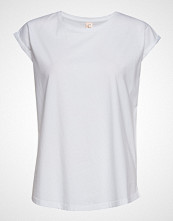 Custommade Connie T-shirts & Tops Short-sleeved Hvit CUSTOMMADE