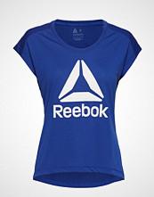 Reebok Performance Wor Supremium 2.0 Tee Bl T-shirts & Tops Short-sleeved Blå REEBOK PERFORMANCE