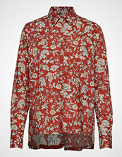 Morris Lady AdéLe Liberty Fleur Shirt Langermet Skjorte Rød MORRIS LADY