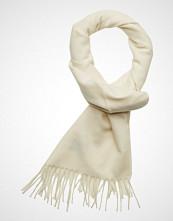 Gant Solid Wool Scarf Skjerf Creme GANT