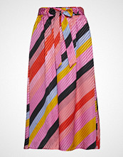 Stine Goya Audrey, 568 Parallels Silk Langt Skjørt Multi/mønstret STINE GOYA
