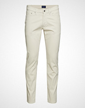 Gant D1. Slim Bedford Jeans Slim Jeans Creme GANT