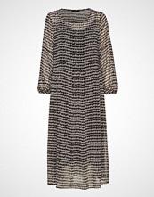 Bruuns Bazaar Feather Violetta Dress Knelang Kjole Multi/mønstret BRUUNS BAZAAR