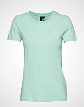 Adidas Performance Gradient Id Tee T-shirts & Tops Short-sleeved Grønn ADIDAS PERFORMANCE