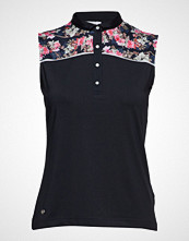 DAILY SPORTS Rosie Sl Polo Shirt T-shirts & Tops Sleeveless Blå DAILY SPORTS