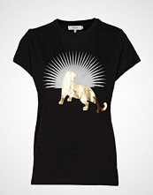 Munthe Kid T-shirts & Tops Short-sleeved Svart MUNTHE