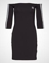 Adidas Originals Shoulder Dress Kort Kjole Svart ADIDAS ORIGINALS