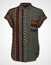 Desigual Cam Azhar Bluse Kortermet Multi/mønstret DESIGUAL