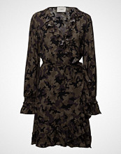 Just Female Naila Wrap Dress Kort Kjole Multi/mønstret JUST FEMALE