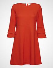 Boss Casual Wear Atrimmy Knelang Kjole Oransje BOSS CASUAL WEAR