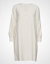 Filippa K Isobel Shirt Dress Knelang Kjole Creme FILIPPA K