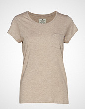 Lexington Clothing Ashley Jersey Tee T-shirts & Tops Short-sleeved Beige LEXINGTON CLOTHING