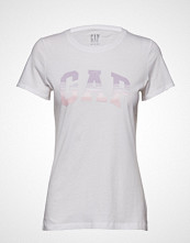 GAP Gap Ss Grad Tee T-shirts & Tops Short-sleeved Hvit GAP