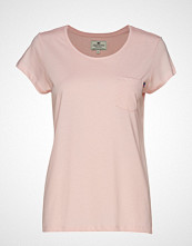 Lexington Clothing Ashley Jersey Tee T-shirts & Tops Short-sleeved Rosa LEXINGTON CLOTHING