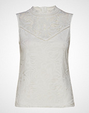 Vila Vistasia S/L Lace Top T-shirts & Tops Sleeveless Hvit VILA