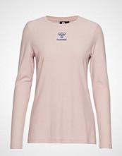 Hummel Hmlframe T-Shirt L/S T-shirts & Tops Long-sleeved Rosa HUMMEL