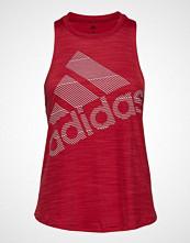 Adidas Performance Bos Logo Tank T-shirts & Tops Sleeveless Rød ADIDAS PERFORMANCE
