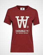 Wood Wood Uma T-Shirt T-shirts & Tops Short-sleeved Rød WOOD WOOD