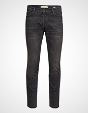 Mango Man Slim Fit Grey Tim Jeans Slim Jeans Svart MANGO MAN